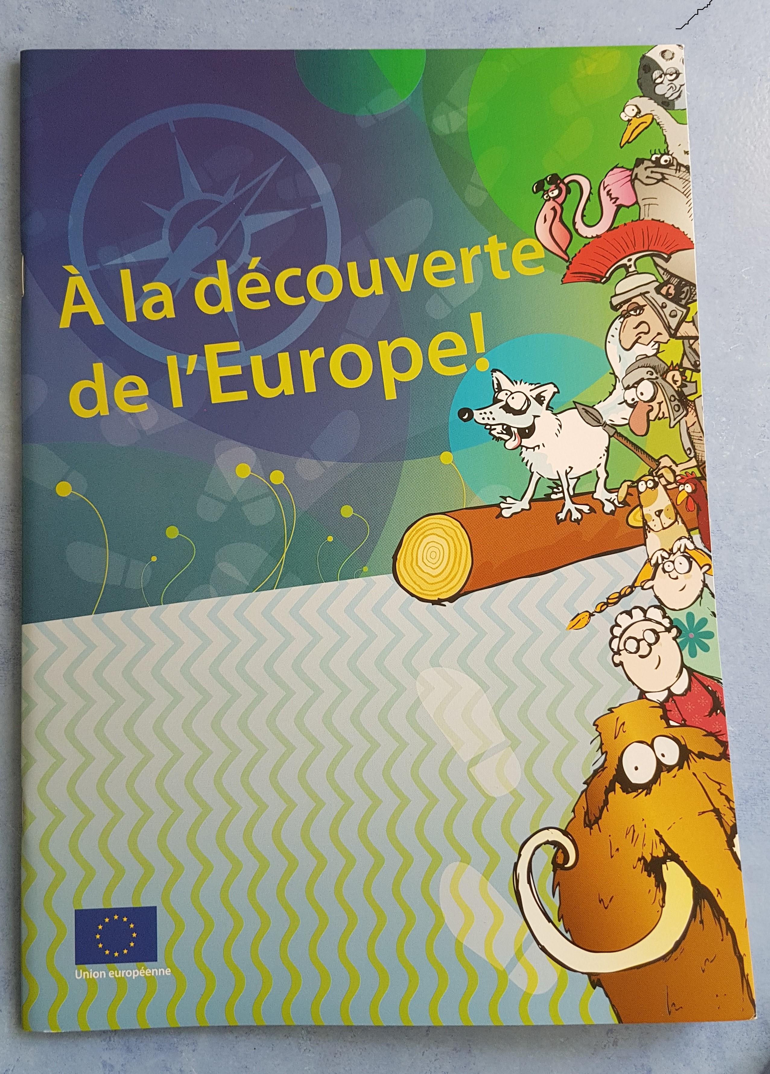 A la découverte de l'Europe !