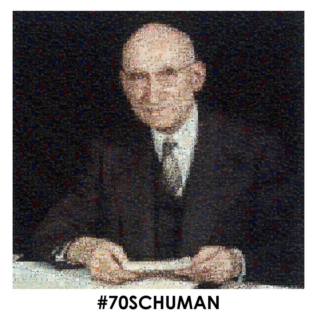 70ème anniversaire de la déclaration de Robert Schuman